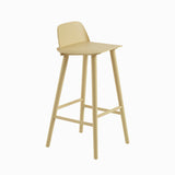 Muuto Nerd Bar Stool Sand Yellow