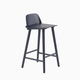 Muuto Nerd Counter Stool Midnight Blue