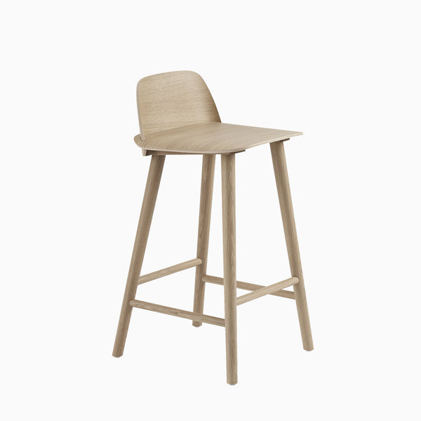 Muuto Nerd Counter Stool Oak