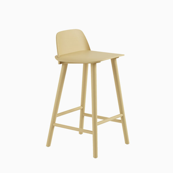 Muuto Nerd Counter Stool Sand Yellow