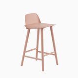 Muuto Nerd Counter Stool Tan Rose