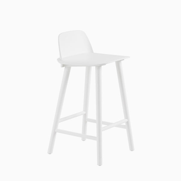 Muuto Nerd Counter Stool White