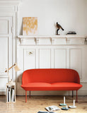 Muuto Oslo 2 Seater Steelcut 550 Display