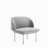 Muuto Oslo Lounge Chair Steelcut 160