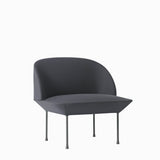 Muuto Oslo Lounge Chair Steelcut 180