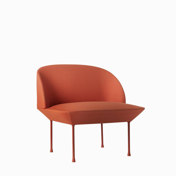Muuto Oslo Lounge Chair Steelcut 550