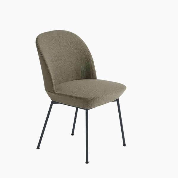 Muuto Oslo Side Chair Ocean 21 Black Legs