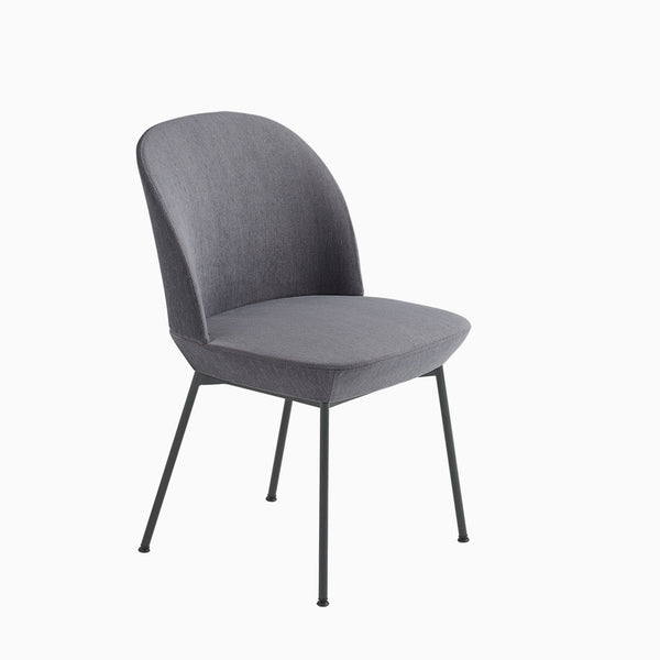 Muuto Oslo Side Chair Still 161 / Anthracite Black Legs