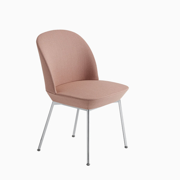 Muuto Oslo Side Chair Twill Weave 530 / Chrome Legs