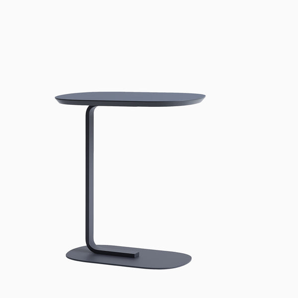 Muuto Relate Side Table Blue Grey
