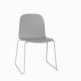 Muuto Visu Chair Sled Base Grey
