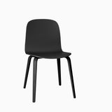 Muuto Visu Chair Wood Base Black