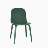 Muuto Visu Chair Wood Base Green