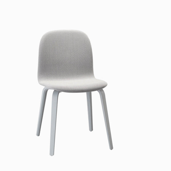 Muuto Visu Chair Wood Base Steelcut Trio 133