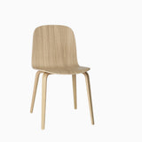 Muuto Visu Chair Wood Base Oak