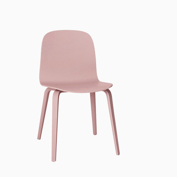 Muuto Visu Chair Wood Base Rose
