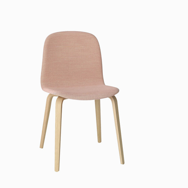 Muuto Visu Chair Wood Base Steelcut Trio 515