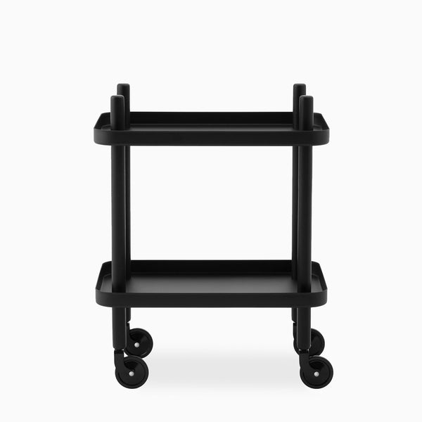 Normann Copenhagen Block Table Black Black