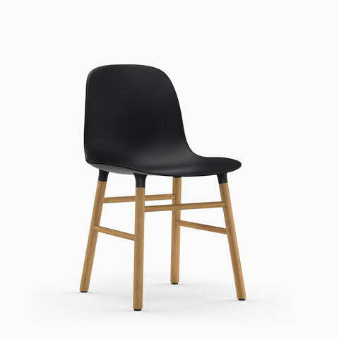 Normann Copenhagen Form Chair Wood Base