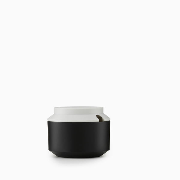 Normann Copenhagen Geo Sugar Bowl (Black)