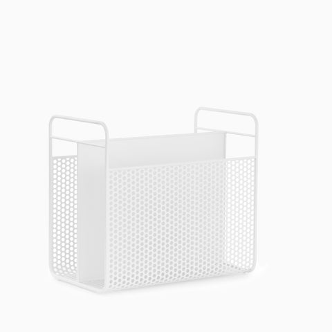 Normann Copenhagen Analog Magazine Holder White