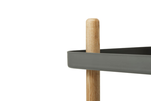 Normann Copenhagen Block Table Dark Grey Close Up