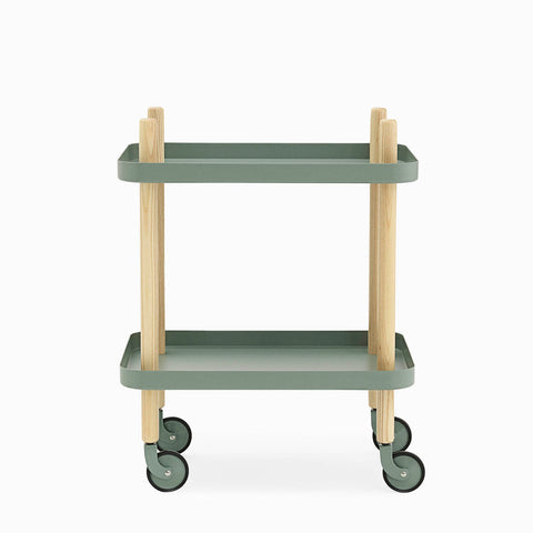 Normann Copenhagen Block Table Dusty Green