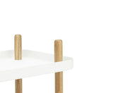 Normann Copenhagen Block Table White Close Up
