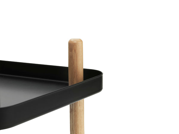 Normann Copenhagen Block Table Black Close Up
