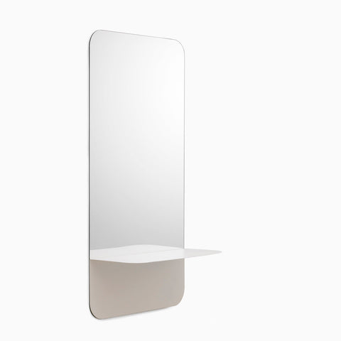 Normann Copenhagen Horizon Mirror Vertical White
