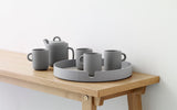 Normann Copenhagen Salon Tray Ø35cm Grey Display