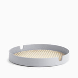 Normann Copenhagen Salon Tray Ø35cm Grey