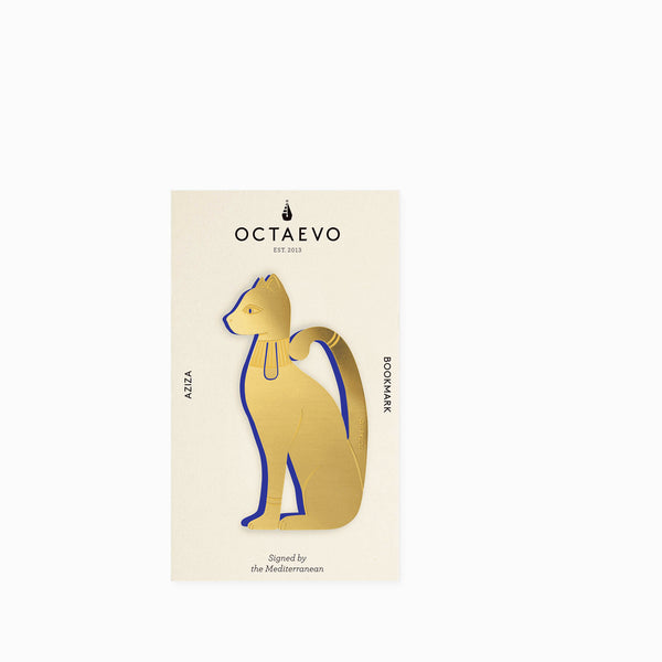 Octaevo Metal Bookmark - Aziza (brass)