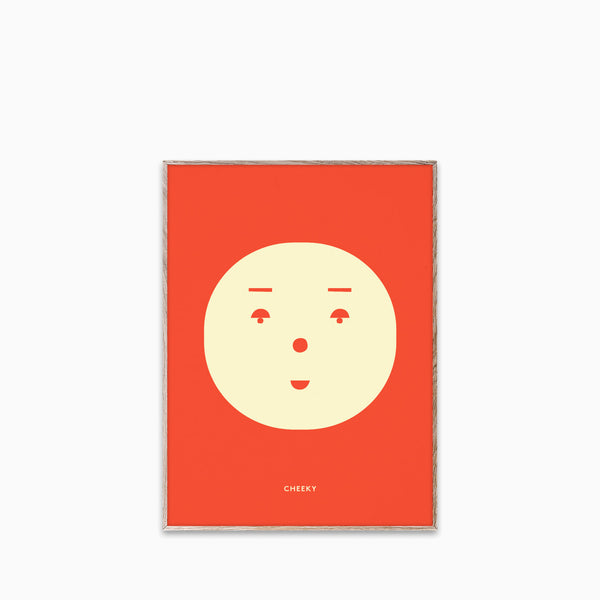Paper Collective Cheeky Feeling Print 30x40cm