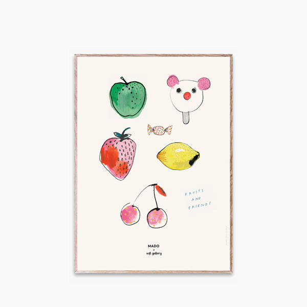 Paper Collective Fruits and Friends