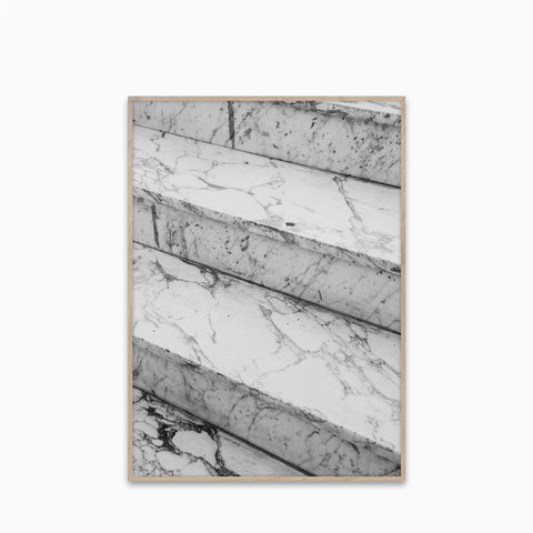 Paper Collective Marble Steps Print