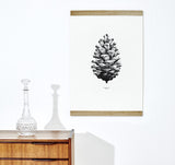 Paper Collective Pine Cone Print Display