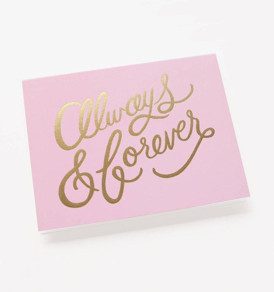 Rifle Paper Co Always & Forever Card