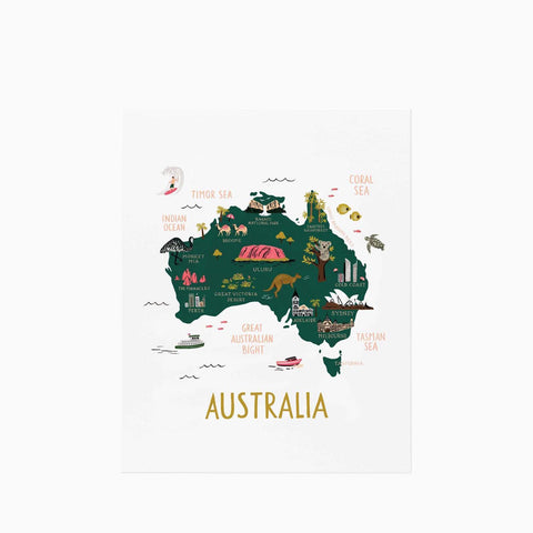 Rifle Paper Co Australia Print