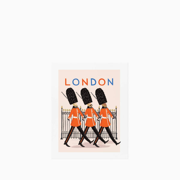 Rifle Paper Co Bon Voyage London Print