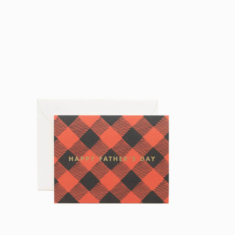 Rifle Paper Co Fathers Day Plaid