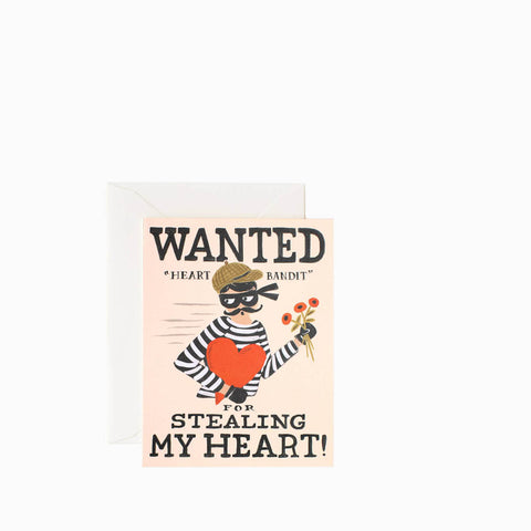 Rifle Paper Co Heart Bandit
