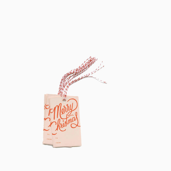 Rifle Paper Co Merry Christmas Gift Tags