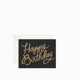 Rifle Paper Co Shimmering Happy Birthday