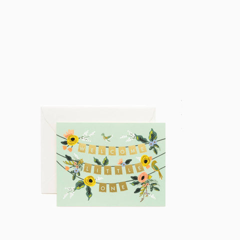 Rifle Paper Co Welcome Garland Card