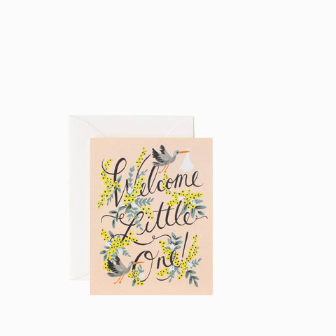 Rifle Paper Co Welcome Little One