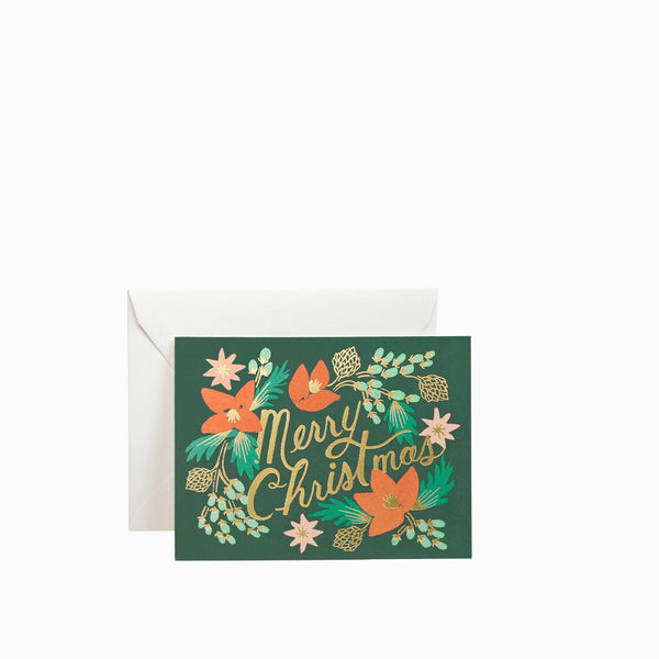 Rifle Paper Co Wintergreen Christmas Card