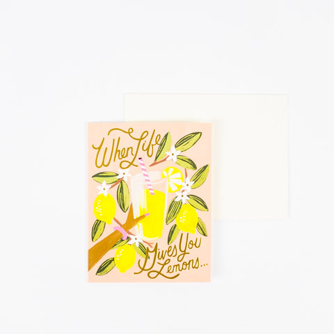 Rifle Paper Co When Life Gives You Lemons