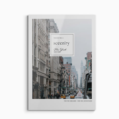 Sceen'ry Travel Journal New York