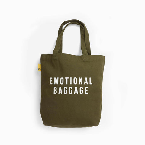 School of Life Emotional Baggage Khaki